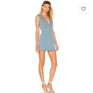 910730958c understated leather Dresses - Understated leather X REVOLVE denim dress